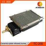 Керамический нагреватель сжигателя Tc200 для автоматического гриля для барбекю барбекю