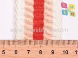 Twisted Nylon Dyed Yarn Twill Pattern Redbing Mix Couleur