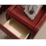 한국 작풍 거실 가구 Fb8141를 위한 현대 진짜 가죽 소파 베드