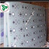 vidrio Tempered de la impresión de la pantalla de seda de 3-25m m