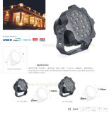 LED-Projektions-Lampe 3X9w 27W imprägniern im Freienbeleuchtung