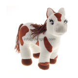 普及したおもちゃのプラシ天の漫画動物は詰められたプラシ天の馬に斑点を付けた