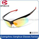 Le meilleur enrouler autour des lunettes de soleil courantes de recyclage d'équitation de mode de lunettes de soleil de sports de promotion neuve de type