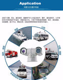 20X 2.0MP 100mの夜間視界のパトカーHDネットワークIR PTZの監視カメラ(SHJ-HD-TA)