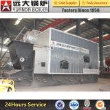 Chaudière à vapeur allumée par charbon à chaînes automatique de grille de SZL de prix usine