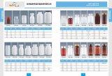 bouteille transparente de l'animal familier 200ml pour la médecine de soins de santé