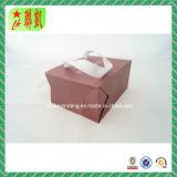Custome druckte Kunstdruckpapier-Handbeutel mit Farbband Handdle