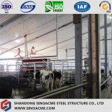재고 Breeding를 위한 Prefabricated 강철 건물/창고
