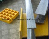 Profil de Pultruded de fibre de verre, tubes de fibre de verre, cornières, tubes de GRP/Glassfiber