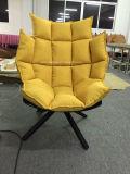 Cadeira muscular de fibra de vidro com almofada muscular