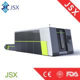 Feuille métallique de Jsx-3015A traitant la machine de découpage de Laster de fibre de commande numérique par ordinateur