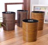 Имитационный деревянный ящик отброса 10L мусорной корзины неныжного ящика пластичный
