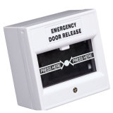 Bouton en verre de porte d'interruption Emergency de qualité (SAWhite)