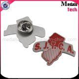 Pernos impresos personalizados de la solapa del metal de aluminio