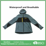 Куртка Softshell высокого качества в сером цвете Balck