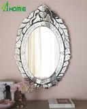 Specchio veneziano della decorazione domestica d'argento elegante della parete