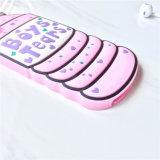 iPhone 7을%s 병 모양 형식 3D 실리콘 상자
