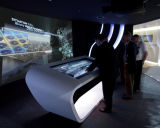 47 Kiosk van de Vertoning van de Lijst van de Koffiebar van de Informatie van het Scherm van de Aanraking van de duim de Slimme Infrarode of Capacitieve Touchscreen LCD van het Comité van de Monitor Interactieve,