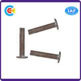Il acciaio al carbonio 4.8/8.8/10.9 ha galvanizzato la vite esagonale della testa della vaschetta per mobilia