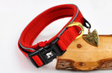Quality HK Pet Products Reflective Diving Fabric LED Dog Collars