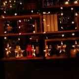 Luzes ao ar livre internas da corda do fio de cobre do diodo emissor de luz da decoração do Natal/fio de cobre chapeado da tira