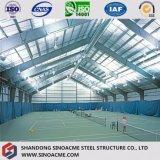 Construction de bâti en acier préfabriquée pour le centre de tennis