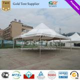 10X10m im Freienweiß Belüftung-Pagode-Zelt mit Dekorationen für Hochzeit