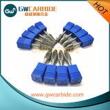 Taglio fine delle bave rotative del carburo di tungsteno