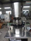 Máquina tampando do tampão de alumínio automático do frasco de vidro