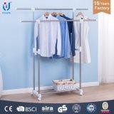 Conception du rack de séchage des vêtements en mouvement
