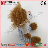 아기를 위한 연약한 견면 벨벳 박제 동물 사자 장난감