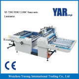 Spitzenverkaufs-halbautomatischer thermischer Film-lamellierende Maschine für einzelnes seitliches Papier