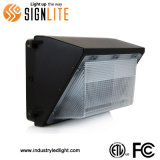 FCC ETL 100W/120W LED Luz Wallpack IP65 de estilo americano