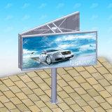 屋外の二重側面の広告ハイウェイの掲示板