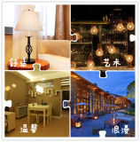 Low Cost High Lumens LED Bulb Candle Shape