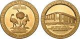 Los más nuevos 2017 medallones de la plata de 2.0 pulgadas para la competición del puente