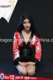 "Nightgown ""sexy"" de seda de Cosplay do estilo japonês da roupa de noite da noite"