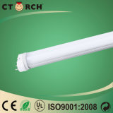 Tube embrochable 10W SKD de la lumière DEL de tube de Ctorch produit par PC et aluminium