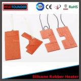Riscaldatore della gomma di silicone con il termostato incastonato
