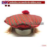 Tapón de algodón sombreros Tartan Beret viaje de negocios en regalos para empresas (C2045)