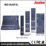 良質の専門のオーディオ・システム16チャネルDJプレーヤーのミキサー
