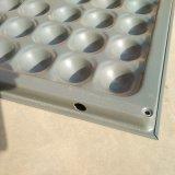 Конкретная Infilled сталь, чуть-чуть поверхность, алюминиевый постамент поднятый настил