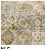 Azulejo esmaltado suelo rústico de cerámica de la porcelana del recubrimiento de paredes para la decoración del suelo (K6411)