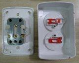 Эбу АБС 10A 16A 250 В 2p дважды поверхностного электрические розетки (S8209)