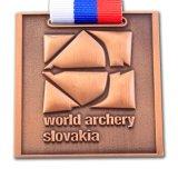 昇進のためのダイカスト3Dメダルデザインを