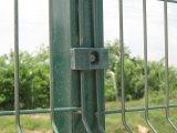 南アフリカ共和国は使用したクリアビューのパネルの塀によって曲げられた網の塀(XMS10)を