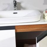 Блок шкафа ванной комнаты меламина белого лака смешанный