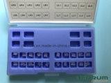 Di ceramica ortodontico di Denrum Edgewise/parentesi con l'iso, Ce di Roth. FDA