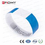 Wristband descartável bonito à moda de Tyvek RFID