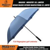 Golfe reto da fibra de vidro que anuncia o guarda-chuva